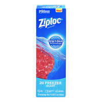 Ziploc Freezer Bags - Quart