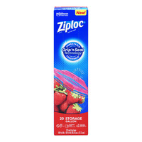 Ziploc Double Zipper Storage Bags - Gallon