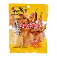 Ego Preserved Dried Young Ginger with Honey