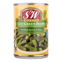 S&W Premium Cut Green Beans