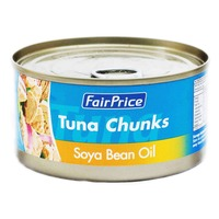 FairPrice Tuna Chunks - Soya Bean Oil