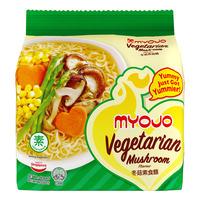 Myojo Instant Noodles - Mushroom (Vegetarian)