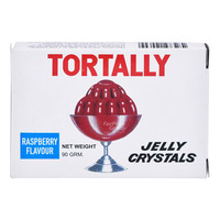 Tortally Jelly Crystals - Raspberry (Red)