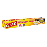 Glad Microwave Wrap (50 square feet)