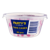 Party's Cake Cases - Floral