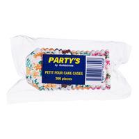 Party's Cake Cases - Petit Four