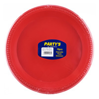 Party's Disposable Plastic Dinnerware - Colour Plates