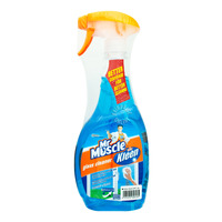 Mr Muscle Glass Cleaner with Refill - Super Active