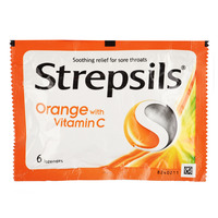 Strepsils Soothing Relief Lozenges - Orange With Vitamin C