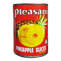 Pleasant Pineapple Slices In Syrup
