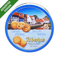 Riberhus Tin Cookies - Danish Butter Cookies