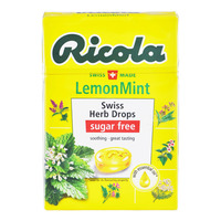 Ricola Natural Relief Swiss Herb Lozenges - LemonMint (No Sugar)