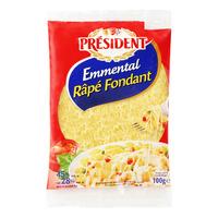 President Grated Emmental Cheese - Rape Fondant