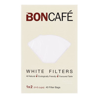 Boncafe Filter Bags - White