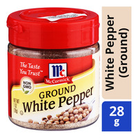 McCormick Spices - White Pepper (Ground)
