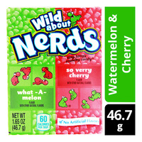 Nestle Nerds Candies - Watermelon & Cherry