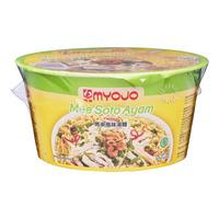 Myojo Instant Bowl Noodles - Mee Soto Ayam