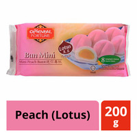 Oriental Fortune Frozen Mini Bun - Peach (Lotus)