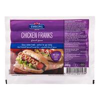 Emborg Frozen European Chicken Franks - Regular