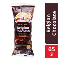 Sunshine Wholemeal Cream Bun - Belgian Chocoalte