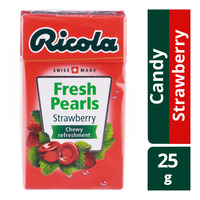 Ricola Fresh Pearls Sugar Free Candy - Strawberry