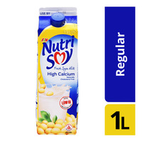 F&N NutriSoy High Calcium Fresh Soya Milk - Regular