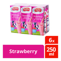 F&N Magnolia UHT Packet Milk - Strawberry