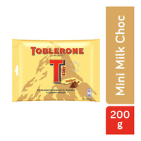 Toblerone Chocolate Minis Share Pack - Milk