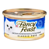 Fancy Feast Classic Cat Food - Ocean Whitefish & Tuna
