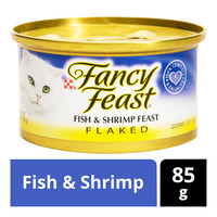 Fancy Feast Flaked Cat Food - Fish & Shrimp