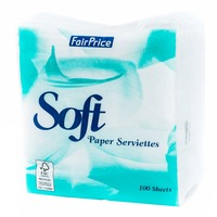 FairPrice Soft Paper Serviettes