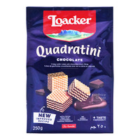 Loacker Quadratini Crispy Wafers - Chocolate
