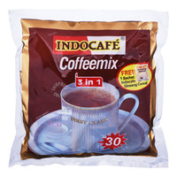 Indocafe 3 in 1 Instant Coffee + Free MaxTea Tarikk Ginger