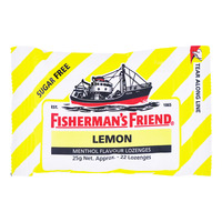 Fisherman's Friend Sugar Free Lozenges - Lemon