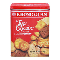 Khong Guan Assortment Biscuits - Top Choice (Tin)