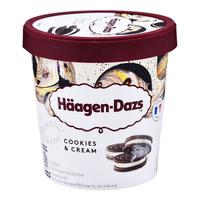 Haagen-Dazs Ice Cream - Cookies & Cream