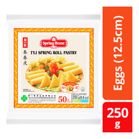 Spring Home TYJ Spring Roll Pastry - Eggs (12.5cm)