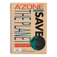 A'Zone Ringfix Notebook - A4