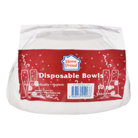 HomeProud Disposable Bowls - Big