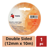 Toyo Tape - Double Sided (12mm x 10m)