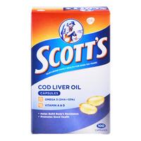 Scott's Cod Liver Oil Capsules