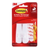 3M Command Hooks - Medium