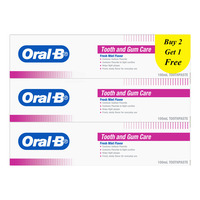 Oral-B Tooth and Gum Care Toothpaste - Fresh Mint
