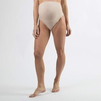 Spring Maternity Mavis Seamless Belly Support Brief Nude - L_XL