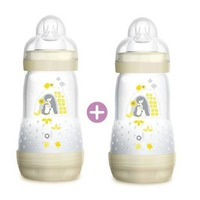MAM Easy Start Anti-Colic Bottle Double Pack - Ivory