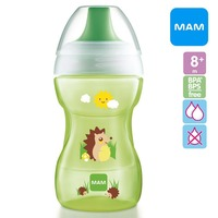 MAM Fun to Drink Training Cup - Green