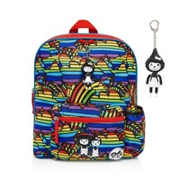 Zip n Zoe Midi Backpack - Rainbow Multi
