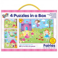 GALT 4 Puzzles in a Box - Fairies
