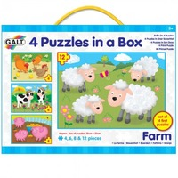 GALT 4 Puzzles in a Box - Farm