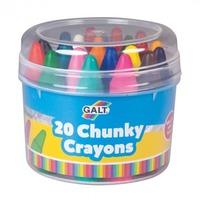 GALT 20 Chunky Crayons